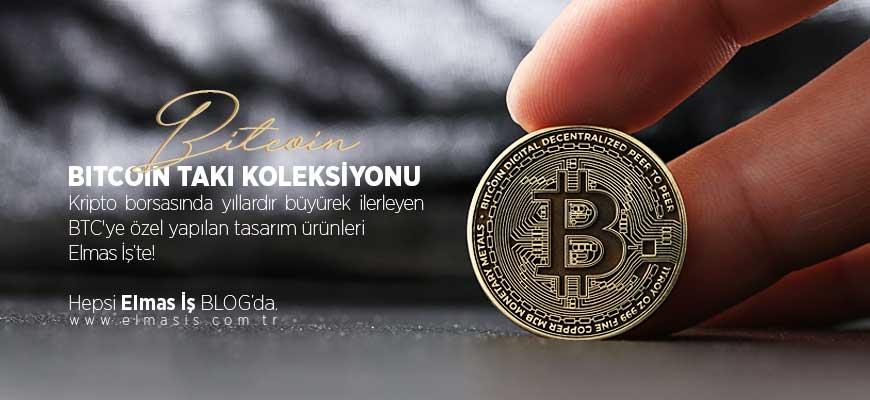 Özel Bitcoin Takı Koleksiyonu | Elmas İş Tasarım Atölyesi