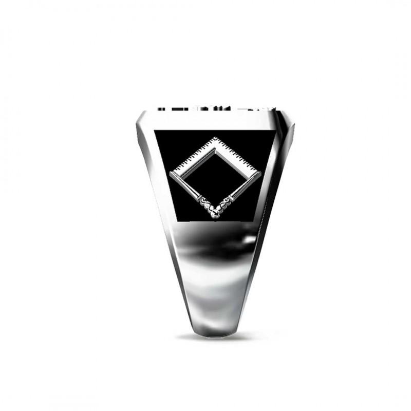 Özel Üretim 925 Ayar Gümüş Kare Antakya Yüzüğü