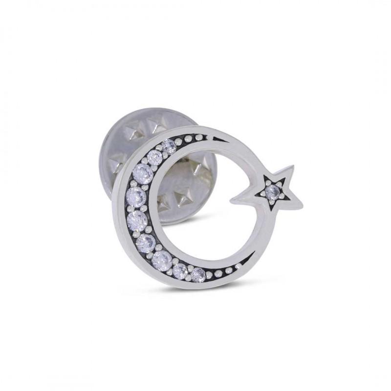 Ay Yıldız Gümüş Rozet