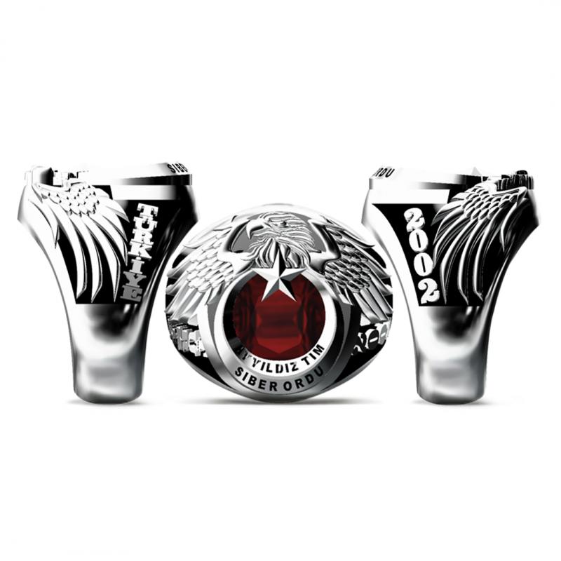 Ay Yıldız Tim Siber Ordu Yüzüğü