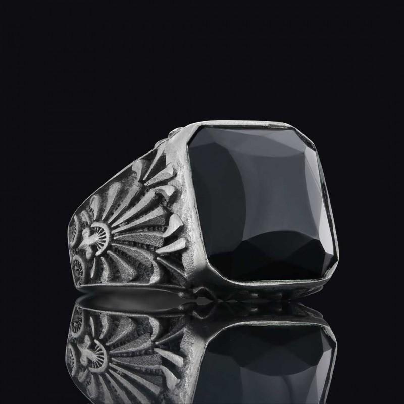 925 Ayar Gümüş Motif Yüzük