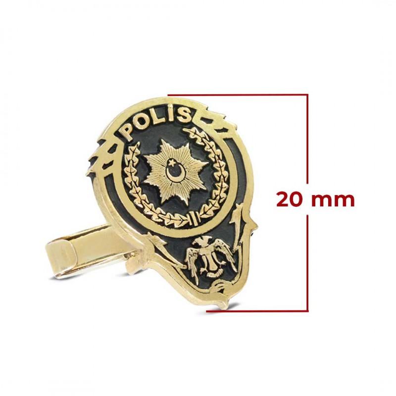 Polisler için Özel Tasarım Kol Düğmesi